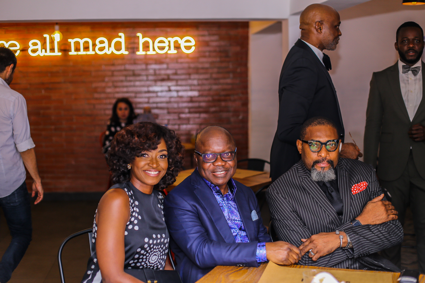 Kate Henshaw, Emmanuel Eweta Uduaghan & Charles Otudor