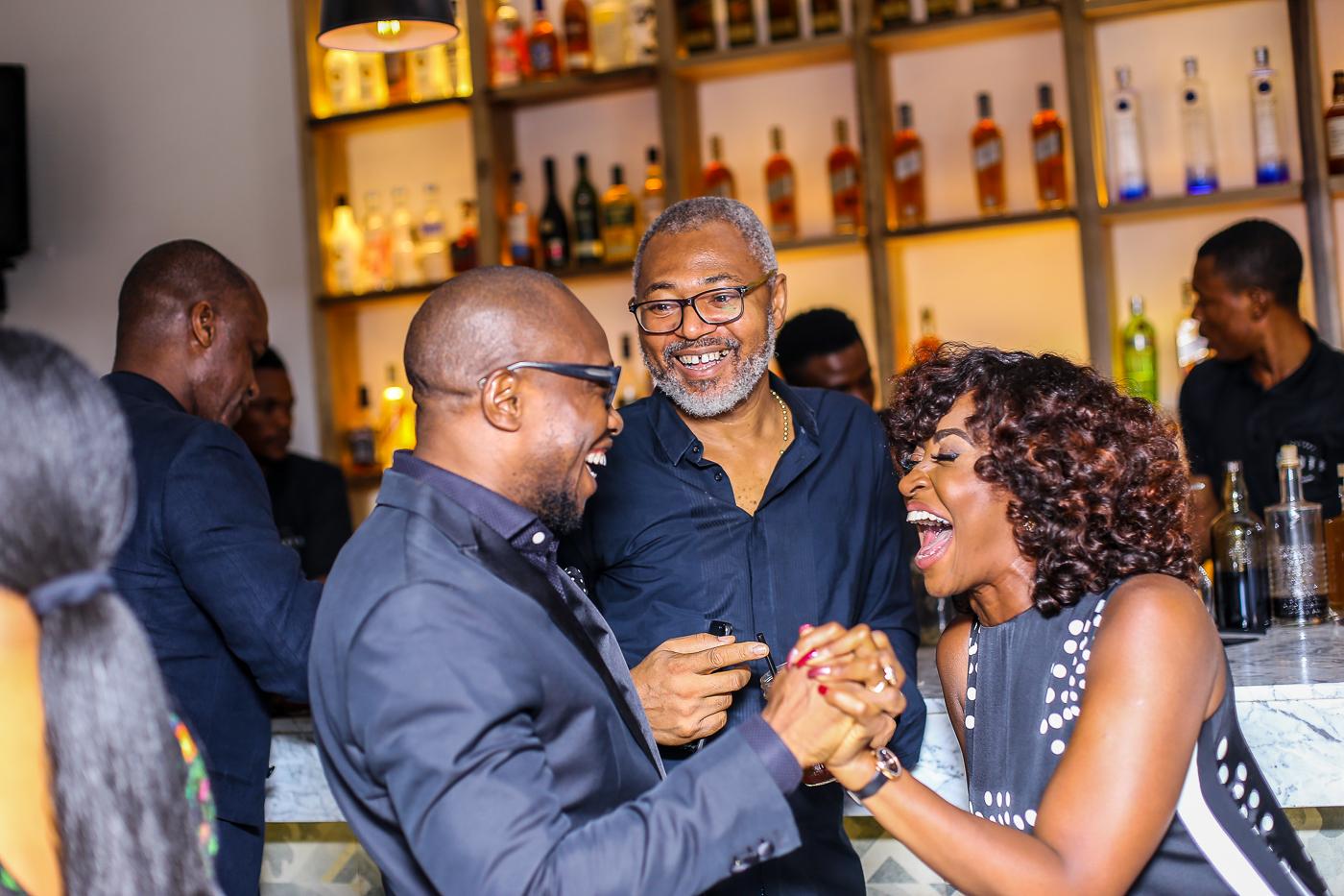 Mena Ajakpovi, Emeka Mba & Kate Henshaw