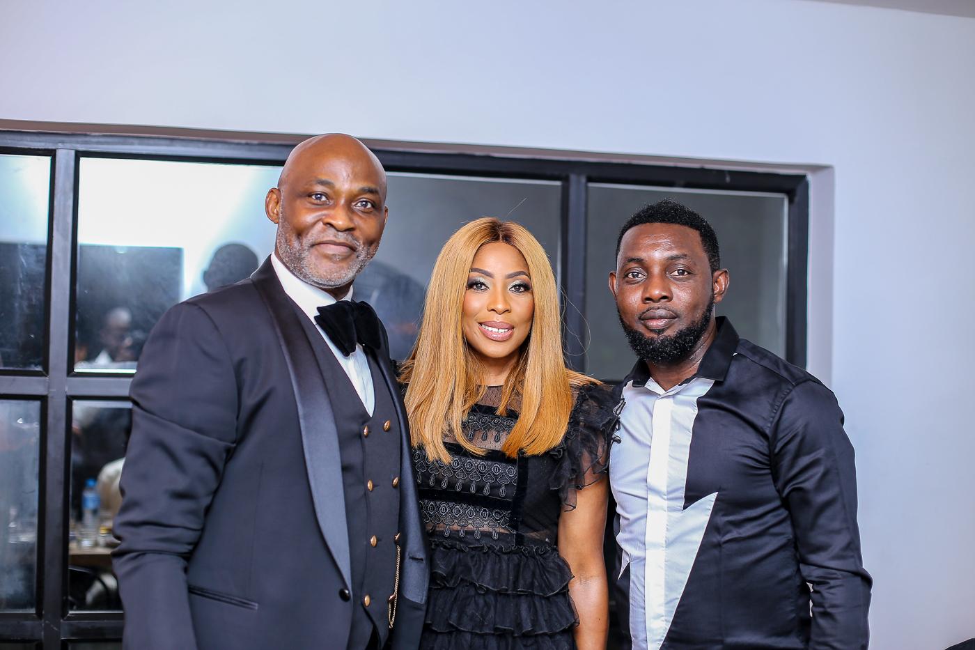 RMD, Mo Abudu & Ayo Makun